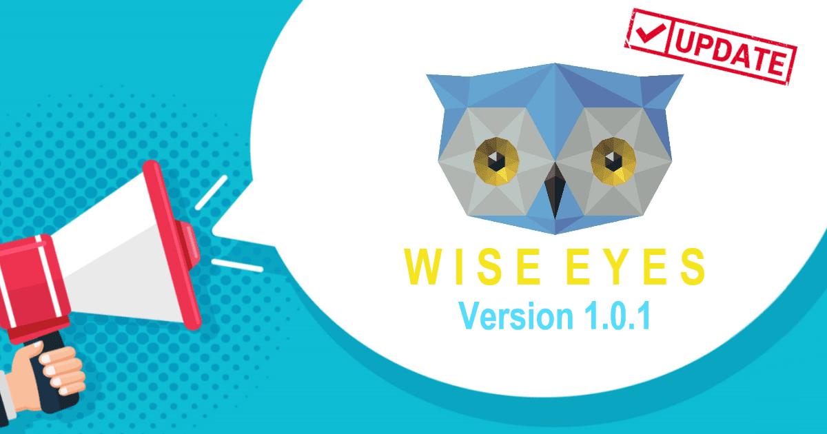 Wise Eyes Version 1.0.1.